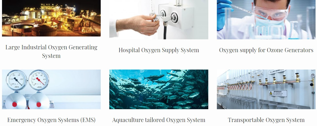Types of Oxygen Systems